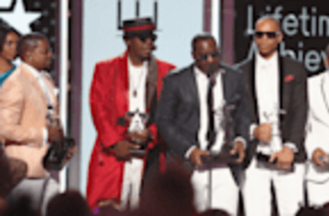 New Edition Performs With Young Actors Who Play Them During Epic BET Awards Tribute