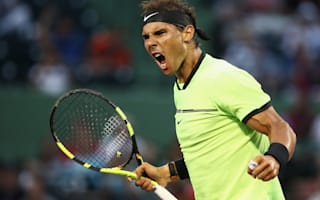 Nadal, Nishikori advance as injured Raonic withdraws