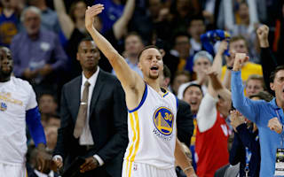 Curry hails Warriors 'amazing' record-equalling run