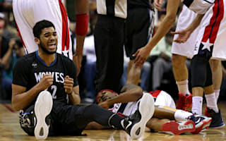 Timberwolves crush Wizards' post-season dreams, Spurs extend home streak