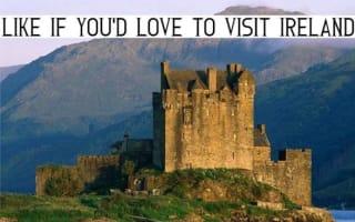 """Not impressed"": Advert for Ireland holiday uses Scottish castle"