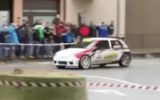 Spectator killed as rally car crashes into crowd