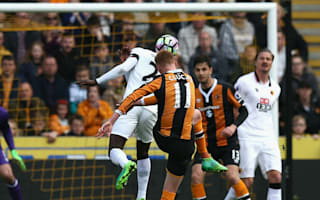 Hull City 2 Watford 0: Clucas stunner helps 10-man Tigers to vital win