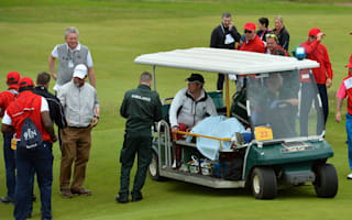 Dawson's caddie Ciplinski hospitalised after being struck by Vijay tee shot