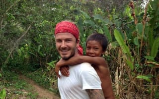 David Beckham shares first pictures from BBC Amazon rainforest documentary