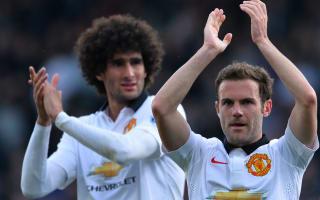 Mourinho hints at United future for Mata and Fellaini