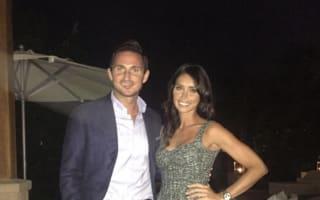 Frank Lampard Instagrams honeymoon photo with Christine Bleakley