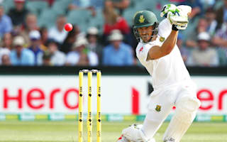 Du Plessis: Boos would have driven me to bat all week