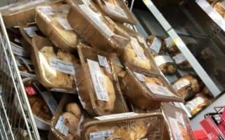 M&S caught throwing away food