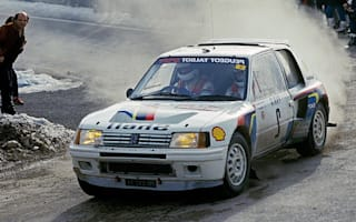 Race-winning Peugeot 205 T16 heads to auction