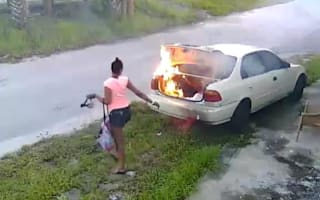 Woman set fire to car she thought belonged to her ex-lover