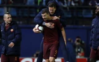 'It's not a surprise' - Dzeko expects goals