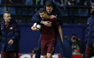 'It's not a surprise' - Dzeko expects goals