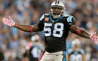 Davis breaks arm, wants to play in Super Bowl 50