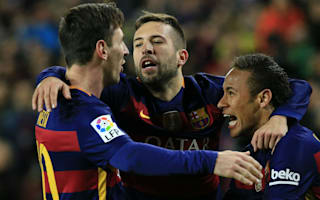 Alba: At Barca no one thinks they're above anyone else