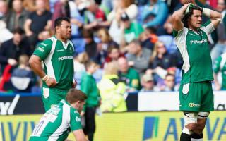 London Irish relegation confirmed