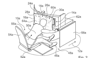 Could planes of the future have airbags for business class passengers?