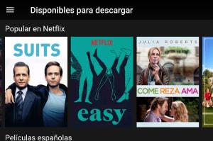 Ya puedes ver Netflix offline