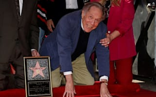 Actor George Segal honoured with Hollywood Walk of Fame star