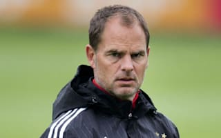 Frank's destined for Inter success, says Ronald de Boer