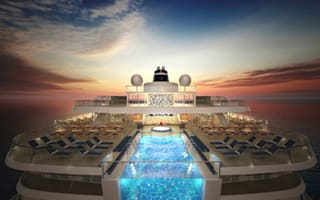 The most incredible cruise ship pools in the world