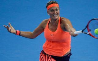 Kvitova withdraws from Hopman Cup