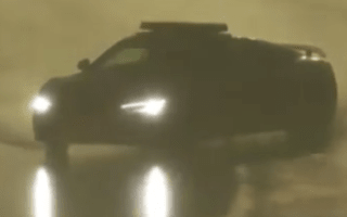 Safety car driver performs huge drift at Le Mans