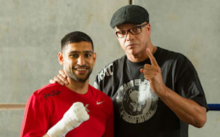 I wasn't for the fight - Amir Khan's trainer