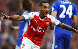 Walcott happy to move on from Arsenal struggles