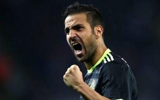 Fabregas battling to open Conte's eyes