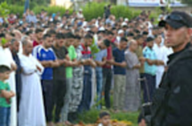 Eid celebrations muted in Gaza amid blockade