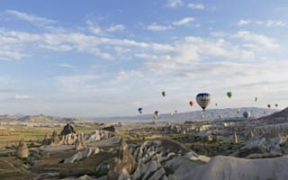 Tourist killed in hot air balloon crash in Turkey