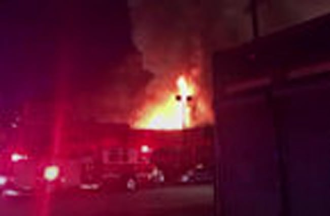 Nine die in club night fire near San Francisco