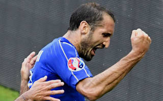 Chiellini delighted to end Italy's Spain pain