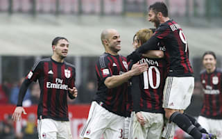 Mihajlovic expects in-form AC Milan to push for third place