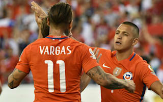 Vargas: Win gives Chile confidence for Copa defence