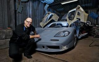 Man builds faithful McLaren F1 replica from scrap