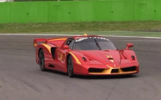 Ferrari FXX Evoluziones meet at Monza