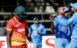 India seal series win following spectacular Zimbabwe collapse