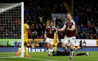 Burnley 3 Crystal Palace 2: Barnes seals dramatic victory at Turf Moor
