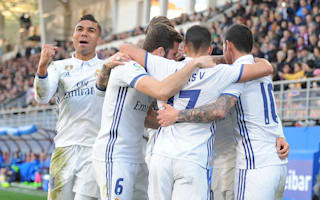 Casemiro credits fast start for comfortable Eibar victory