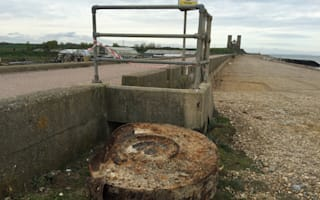 Dambusters bomb washes up on Kent beach