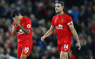 Frustrated Henderson laments Liverpool stalemate