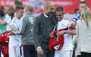 Bayern Munich v Hannover: Champions to receive trophy in Guardiola's Allianz farewell