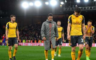 That's not Arsenal at all - Walcott slams lacklustre display
