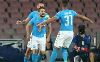 Napoli 4 Benfica 2: Mertens bags two as Napoli run riot