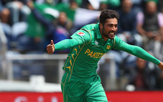 Amir fit for Champions Trophy final
