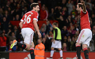 Manchester United 2 Crystal Palace 0: Decisive Darmian puts pressure on Arsenal