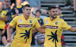 Central Coast Mariners 3 Wellington Phoenix 1: Hosts end miserable year on a high