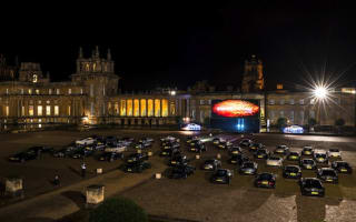 50 Aston Martin cars assemble for drive-in premiere